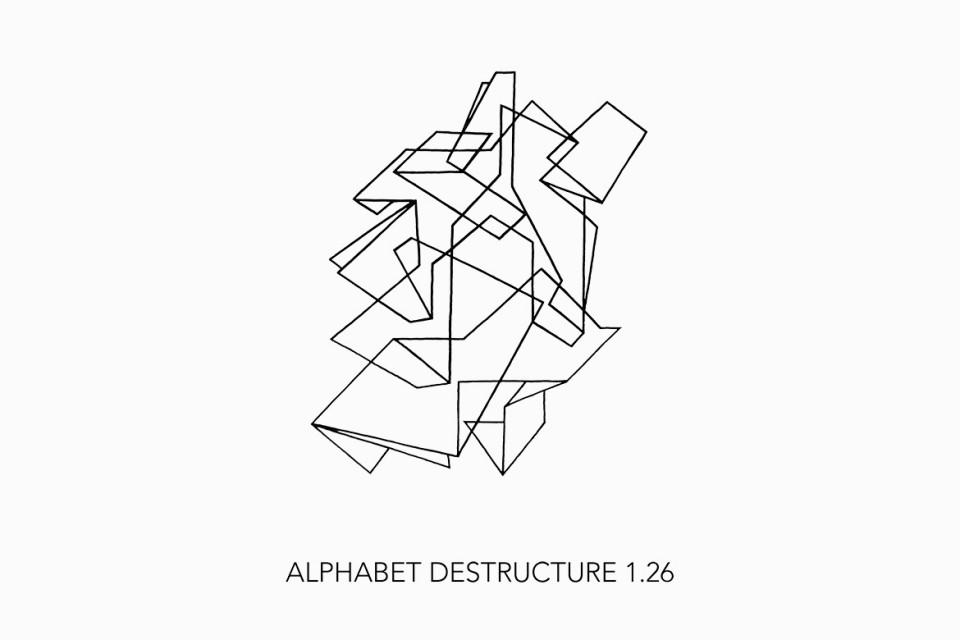 Alphabet Déstructuré 1.26
