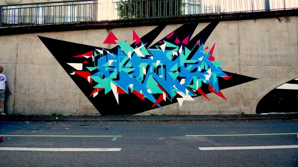 Sans titre / Quai d'Ille-et-Rance / Rennes / 2013